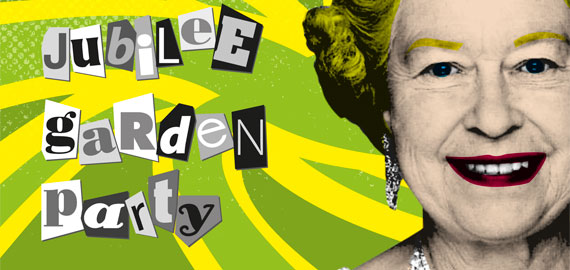 Golden Jubilee Garden Party invitation