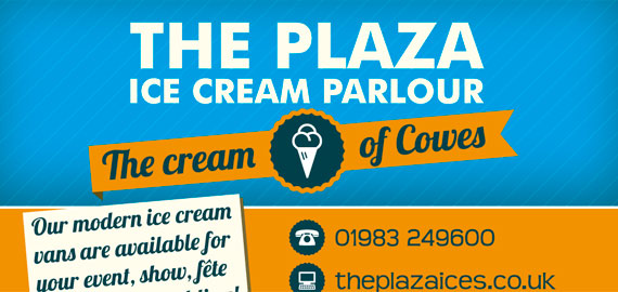 Plaza Ices loyalty card